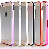 DF® Ultra Thin 07mm Metal Aluminium Frame Bumper for iPhone 4/4S (Assorted Colors)