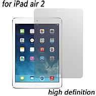 de alta definición de protectores de pantalla transparentes de primera calidad para el ipad 2 del aire