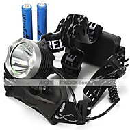 LT-0065  3Mode  CREE XM-L2 LED Headlamp (2200LM.2X18650.Black)