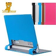 "blyg björn ™ slim PU läder tabletttäck stand fallet för lenovo yoga 10 B8000 b8080 10,1 ""tum"
