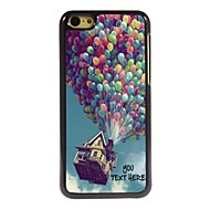 Personalized Phone Case - Balloon Design Metal Case for iPhone 5C