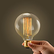40W E27 Retro Industry Style Globe Transparent Incandescent Bulb