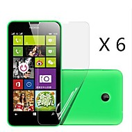 (6 pcs)High Definition Screen Protector for Nokia Lumia 630/635