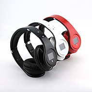 BQ968 Multifunction Bluetooth 3.0 Over Ear Headphone with LCD Screen for Smart Phones/PC