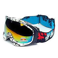 HB Black & White Frame Protection Polarized Snow Goggles
