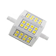 Juxiang R7S 5 W 24 SMD 5050 300 LM Warm White Decorative Corn Bulbs AC 85-265 V