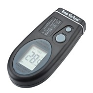 """1.4 """"lcd bærbar infrarød termometer med rød sikte laser (-27 ° F ~ 482 ° f / 2 * CR2032)"""