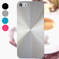 DF Solid Color Helix Brushed Aluminium Case Cover for iPhone 5/5S(Assorted Colors)