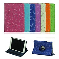 7.9 Inch 360 Degree Rotation Diamante Pattern with Stand Case for iPad mini/mini 2(Assorted Colors)