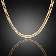 erkekler 75cm 6mm jack erkek 24k gerçek altın figaro seyrek düz zincirler kolye yüksek kalite kaplama solmaya asla