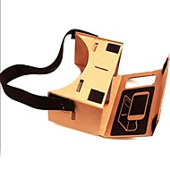 "DIY Google Cardboard Virtual reality VR Mobile Phone 3D Glasses with NFC Tag for 4-4.5"" Screen"