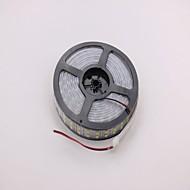 IP68 étanche 5m 144W 600 * 5050 SMD 9600lm lumière chaude underwater double boîtier a mené la lampe de bande (DC12V)