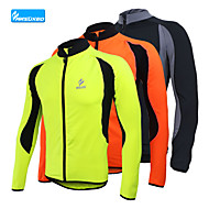 Arsuxeo Men's Fleece Cycling Jersey Warm Winter Thermal Bike Bicycle Outdoor Sporting Coat