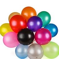 100stk høy kvalitet flerfarget latex helium jevning perle ballong for bryllupsfesten bursdag