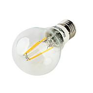 YouOKLight E26/E27 4 W 4 COB 400 LM Warm White Decorative Globe Bulbs AC 220-240 V