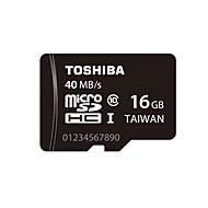 Toshiba 16GB UHS-I U1 / Clase 10 MicroSD/MicroSDHC/MicroSDXC/TFMax Read Speed40MB / S (MB/S)Max Write Speed20MB / S (MB/S)