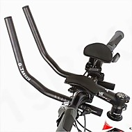 ouest biking® course cycliste cycliste VTT alliage d'aluminium triathlon aéro guidon guidon reste séparé 2pcs reste du tuyau