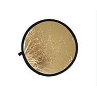 80 cm 2 in 1 Gold-Silber-Strahler-Reflektor (gold)