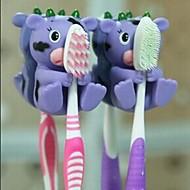 1 PCS Animal Shape  Hanging Toothbrush Holders(Random Color)