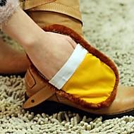 sapato multifuncional macio imitação lã limpa (cor aleatória)