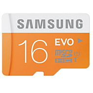 Samsung 16GB Clase 10 / UHS-I U1 MicroSD/MicroSDHC/MicroSDXC/TFMax Read Speed48 (MB/S)Max Write Speed15 (MB/S)