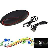 dogo® btk1015 mini bärbara Bluetooth 2.1 trådlös högtalare med handsfree-samtal och tf kortläsare