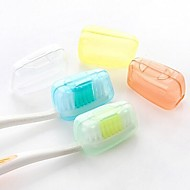 Travel Inflated Mat / Travel Toothbrush Container/Protector Antibacterial Toiletries Plastic