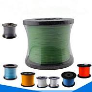 500M / 550 Yards Żyłka polietylenowa pleciona / Dyneema Vlasce Czarny / Dark Blue / Zielony / Pomarańczowy / Biały8LB / 10LB / 20 lb / 25