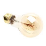 mlsled® E27 40 w 1 * Edison 200-260lm 2700-3500k teplé bílé světlo žárovek z tmavého skla (ac 220-240)