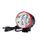 Torch Light פנסי ראש / פנסי אופניים LED 7200lm Lumens 3 מצב Cree XM-L T6 / Cree XM-L U2 18650עמיד למים / ניתן לטעינה מחדש / עמיד לחבטות /