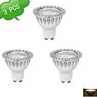 3-Pack duxlite® GU10 9W (= галоген 75W +) CRI>80 1xcob 810lm 3000K теплый белый привело пятно лампы (AC 85-265V)