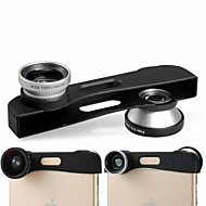 Three-in-One Macro Wide-angle & Fish-eye Lens for iPhone 6 Plus(Assorted Color)