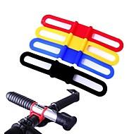 väster biking® 5 st cykling buntband MTB högelastisk silikon cykel slips cykellampor hållare multifunktionsremmar