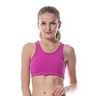 Yokaland Dame Sports-BH Ermeløs Fort Tørring Pustende SportsBH-er Undertøy Topper til Yoga & Danse Sko Pilates Trening & Fitness Spandex