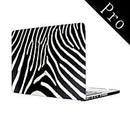 """diseño de la cebra-raya-cuerpo completo caja de plástico protectora para el MacBook Pro de 13 """"/ 15"""" (no-retina)"""