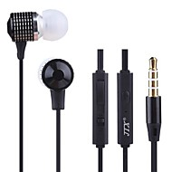 JTX-JL520 3.5mm Noise-Cancelling Mike Volume Control in-ear Earphone for Iphone and Other Phones(Assorted Colors)