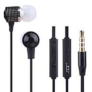 JTX-jl520 3.5mm redukcji szumów, regulację głośności mikrofonu słuchawki douszne dla iPhone i innych telefonów (różne kolory)