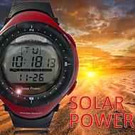 Herrenuhr wasserdichtes Sport lcd digitalen Multifunktions-Armbanduhr mit Hintergrundbeleuchtung (farblich sortiert)