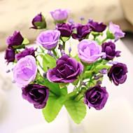 Tak Zijde Kunststof Rozen Bloemen voor op tafel Kunstbloemen