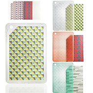 "CDN ""Matrix"" In-Mold Diamond Pattern TPU Case for iPad mini 1/2/3"
