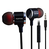 PLEXTONE® X34M In-Ear Metal Heavy Bass Earphone with Mic and Compatibe for iPhone6/iPhone6 Plus MobilePhone/Pad/MP3/PC