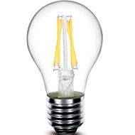 5W E26/E27 LED Filament Bulbs G60 4 COB 440 lm Warm White Dimmable / Decorative AC 220-240 V