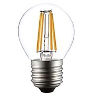 ON E26/E27 4 W 4 COB 400 LM Warm White A LED Filament Lamps AC 220-240 V