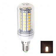 e14 4.5W 48x5050smd 460lm 3000K теплый белый с белым светом индикатор, кукурузы лампочки (AC 220-240В)