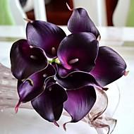 PU 카라 릴리 인공 꽃