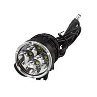 preto bicicleta com farol de luz esporte lanterna profissional cavaleiro das trevas K4P 4 liderada pelos EUA cree xml-t6 4800lm