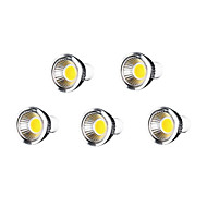 5pcs 7W GU10 500-550lm fraîche blanc chaud dimmable / de soutien de couleur conduit ampoule spot de torchis (110v)
