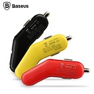 baseus dubbla usb 3.4a smarta tunna serien billaddare för iphone ipad samsung (blandade färger)