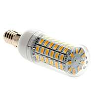 E14 15W 69 SMD 5730 1500 lm Warm White T LED Corn Lights AC 220-240 V