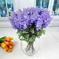 Zijde / Plastic Lichtblauw Kunstbloemen